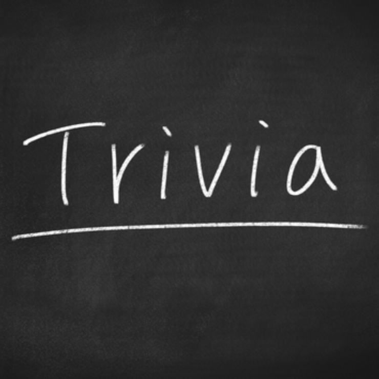 Weekly Event - Trivia