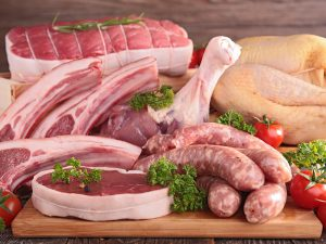 weekly event - meat tray